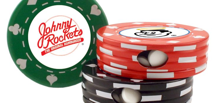 POKER CHIP TIN