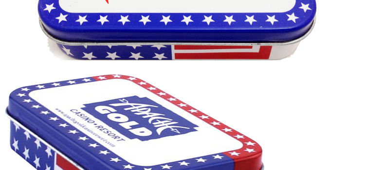 PATRIOTIC MINT TIN LARGE