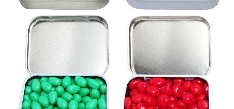 RECTANGULAR MINT TIN SMALL