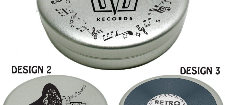 SLEEK MUSIC TIN MEDIUM