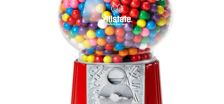 GUMBALL MACHINE RED 15 INCH