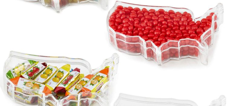 PLASTIC USA SHAPE CONTAINER
